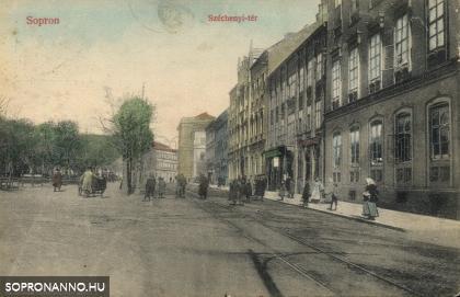 Széchenyi téri életkép