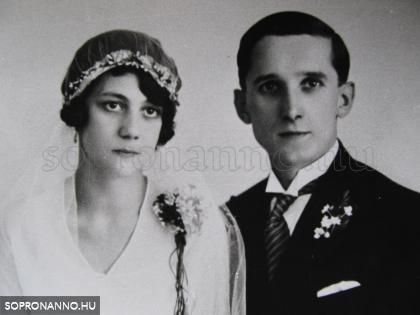 Baumann Béla és felesége