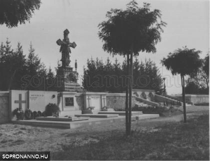 """Új"" temető – Lobenwein sírhely"