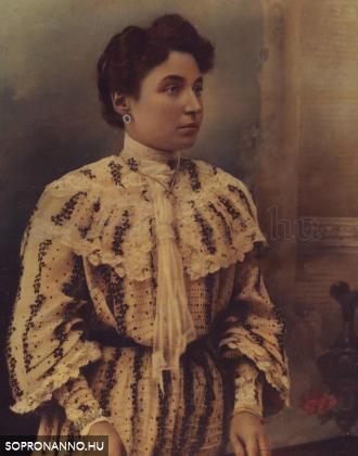 Weidinger Mária (1876-1943) – színezett fotó: Harald Lobenwein