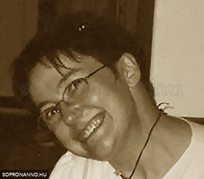 Kótai Mónika, a Sopron anno szerkesztője