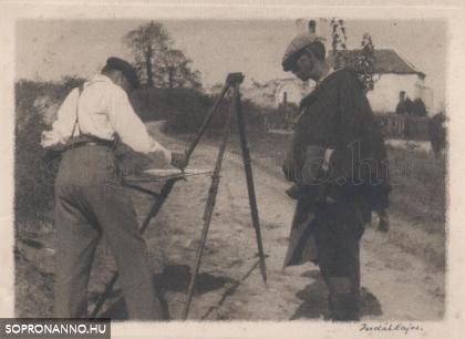 Munka közben, Balfon (1932)