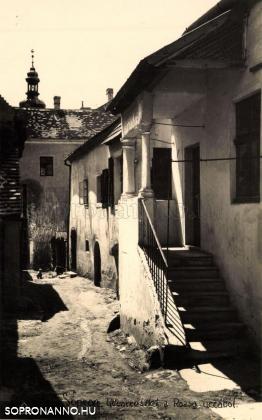 Zsabokorszky Jenő képeslapja