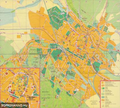 Térkép 1988