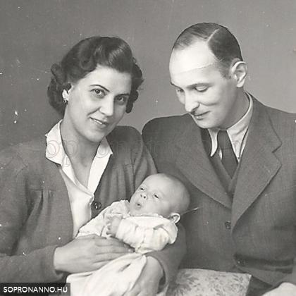 Magda és családja