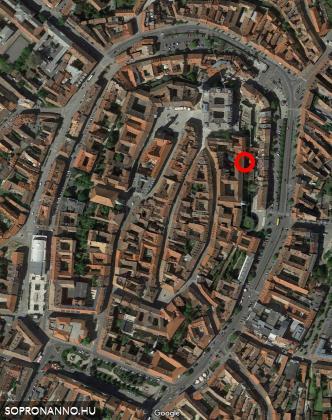 A közölt fotók helyszíne. Kép: Google Maps.