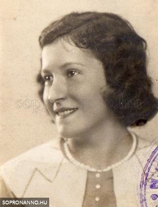 Édesanyám, Wittinger Anna az 1930-as évek elején