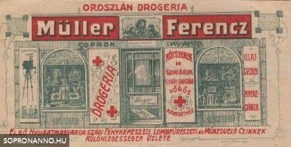 A Müller drogéria reklámja