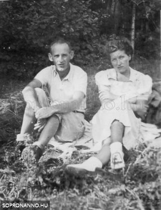 A szüleim, kiránduláson az 1930-as években
