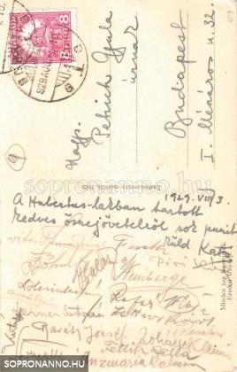 Az 1929. évi soproni művésztelep