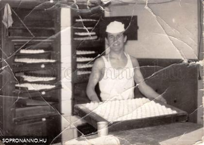 A Hoffmann cukrászda műhelyében