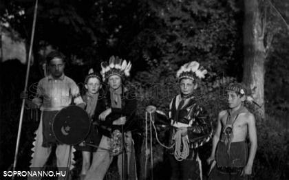 A budai sziú indián törzs