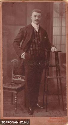 Pum Géza ifjúkorában
