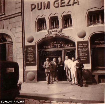 Az Újteleki utcai üzlet bejárata