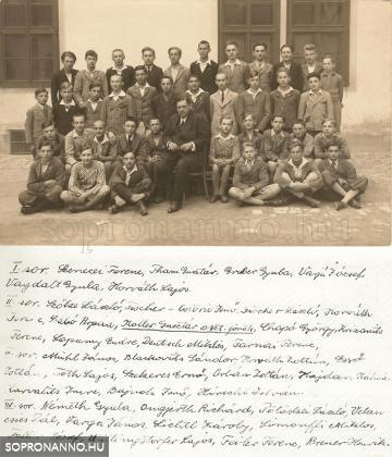 Osztálykép 1935.