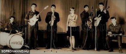 1967. A hölgy neve ismeretlen, valószínűleg brennbergbányai diáklány, csodálatos France Gall hanggal