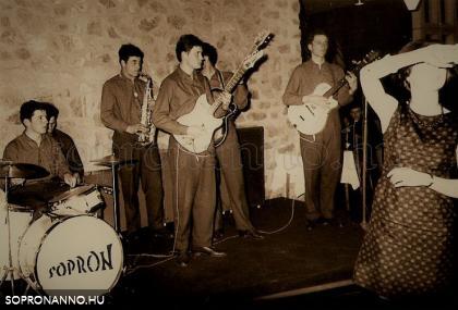 1967. Sopron, Hotel Fenyves, osztrák-magyar farsang