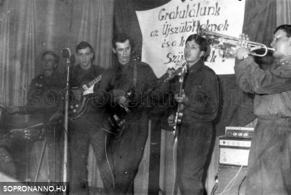 1969.02.22 BM Sopron Határőrség zenekara