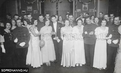 Farsangi mulatság Sopronban az 1930-as években