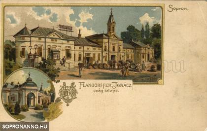 A Flandorffer cég képeslapja