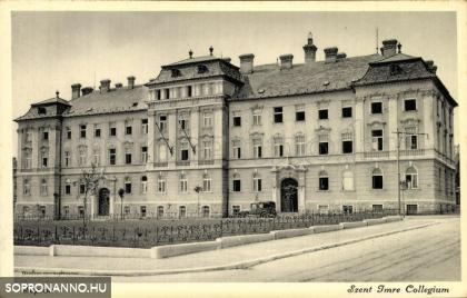 A Szent Imre Kollégium épülete