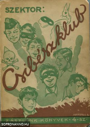 A Csibészklub első kiadásának borítója
