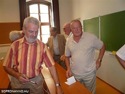 A tanterem belső képe 2008-ban
