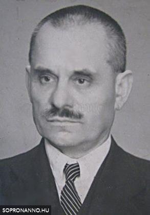 Csanády Sándor arcképe egy tablóról (1959)