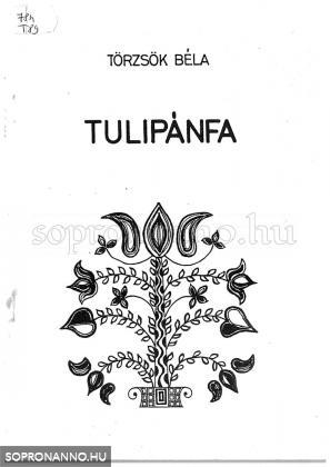 A Tulipánfa c. énekeskönyv borítójának motívuma