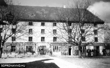 1930-as évek. A Rupprecht cukorgyár főépülete.