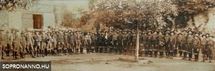 1927. május 27. Cserkész őrsi zászlóátadás