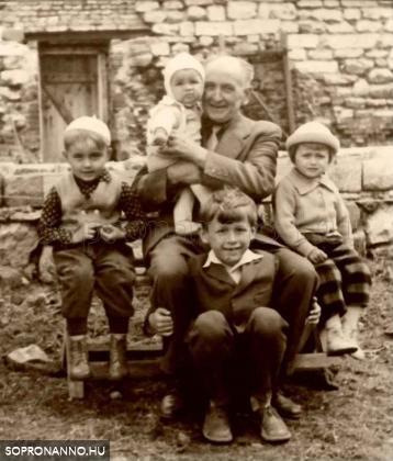 1960-as évek első fele. Zamostny János, a nagyapa