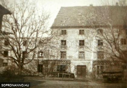 1946-47 táján a bombatalálatot kapott cukorgyári főépület