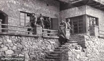 Az István-menedékház 1959-60 táján
