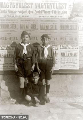 Soproni úttörők