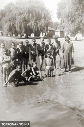 Gyerekek nyaraltatása a Balatonon
