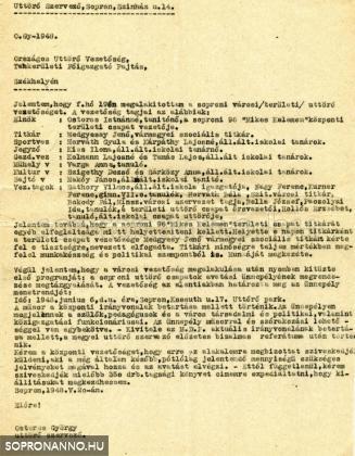 Az úttörő mozgalom szervezése, 1948.