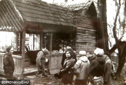 Látogatóban Tepper -tanyán. Fényes Mara felvétele 1974. november 10.