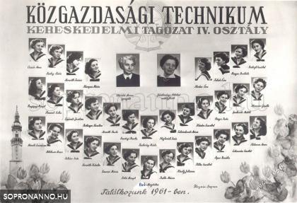 1956-ban végzett osztály