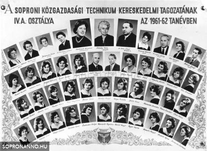 1962-ben végzett osztály