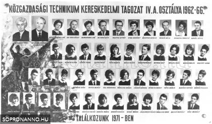 1966-ban végzettek tablója