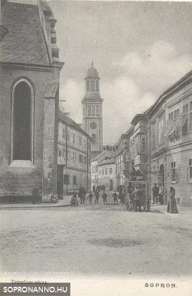 Templom utca 1905.