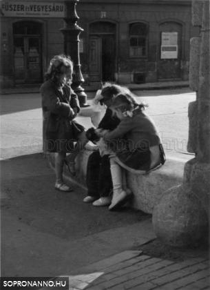 Fő tér 1954.
