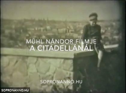 Mühl Nándor: A Citadellánál