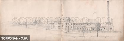 Handler Nándor vázlatfüzete - 1855