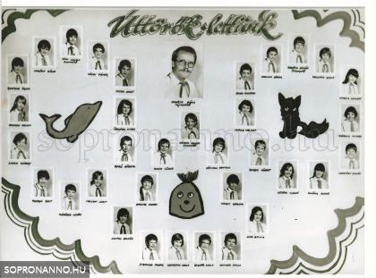 Lackner Kristóf Általános Iskola Úttörők lettünk 1986. 5.C osztály