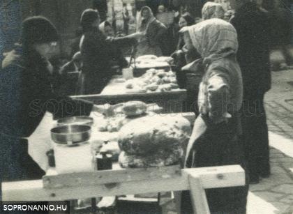 Piac 1932 tavaszán