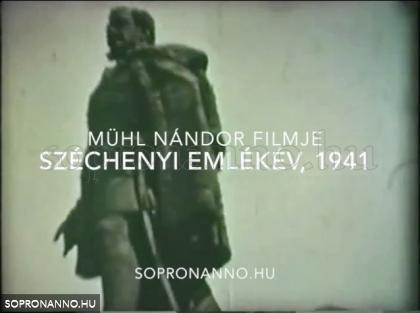 Mühl Nándor: Széchenyi emlékév