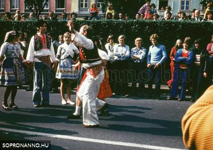 Szüreti felvonulás -1975