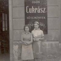 ifjabb Hoffmann Ödön unokatestvérei (Marek lányok: Julika és Ilike)
